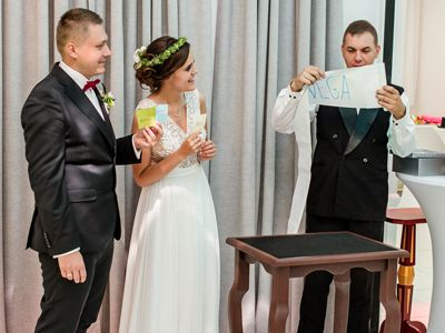 Iluzjonista z Poznania na wesele